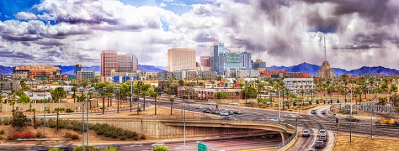Downtown Phoenix courtesy of CEBImagery via flickr